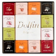 "Dolfin Belgian Chocolate - ""Panache Assortment"" 48 piece box, 216g/7.6oz., 5 - Pack"