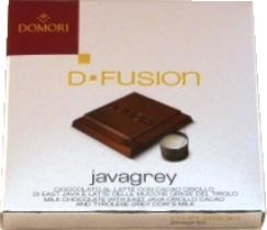 "Domori Italian Milk Chocolate Bar - D-Fusion ""Javagrey"", 45% Cocoa, 25g/.88oz (12 Pack)"