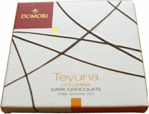 "Domori ""Teyuna"", Italian Chocolate Bar - Single Origin, 70% Cocoa, 25g/.88oz. (Single)"