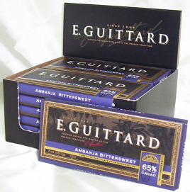 "E. Guittard Chocolate - ""Ambanja - Madagascar"" Bittersweet Chocolate Bar, 65% Cocoa, 56.7g/2.0oz. Kosher Dairy"