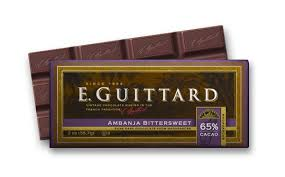 "E. Guittard Chocolate - ""Ambanja - Madagascar"" Bittersweet Chocolate Bar, 65% Cocoa, 56.7g/2.0oz. Kosher Dairy(Single)"