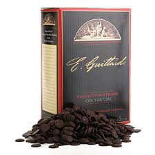 "E. Guittard Chocolate - ""Coucher du Soleil"" (Sunset) Bittersweet Dark Chocolate Wafers for Baking and Eating, 72% Cocoa, 5kg/11lb."