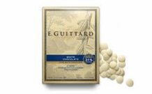 "E. Guittard Chocolate - ""Creme Francaise"" (French Cream) White Chocolate Wafers for Baking and Eating, 31% Cocoa, 454g/1lb. (Single)"