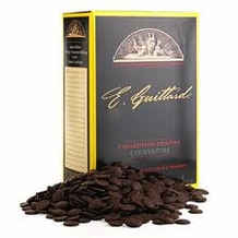 "E. Guittard Chocolate - ""La Nuit Noire"" (Dark Night) Semisweet Dark Chocolate Wafers for Baking and Eating, 55% Cocoa, 5kg./11lb."