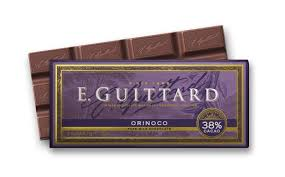 "E. Guittard Chocolate - ""Orinoco"" Milk Chocolate Bar, 38% Cocoa, 56.7g/2.0oz.(6 Pack)"