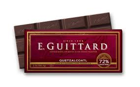 "E. Guittard Chocolate - ""Quetzalcoatl"" Bittersweet Chocolate Bar, 72% Cocoa, 56.7g/2.0oz. (12 Pack)"