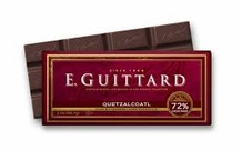 "E. Guittard Chocolate - ""Quetzalcoatl"" Bittersweet Chocolate Bar, 72% Cocoa, 56.7g/2.0oz. Kosher Dairy(Single)"