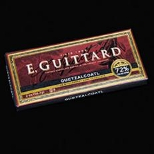 "E. Guittard Chocolate - ""Quetzalcoatl"" Bittersweet Chocolate Bar, 72% Cocoa, 56.7g/2.0oz. Kosher Dairy"