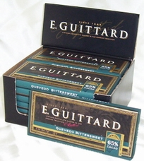 "E. Guittard Chocolate - ""Quevedo - Ecuador"" Bittersweet Chocolate Bar, 65% Cocoa, 56.7g/2.0oz. Kosher Dairy"