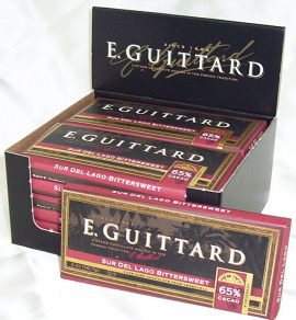 "E. Guittard Chocolate - ""Sur del Lago - Venezuela"" Bittersweet Chocolate Bar, 65% Cocoa, 56.7g/2.0oz. Kosher Dairy"