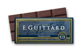 "E. Guittard Chocolate - ""Tsaratana"" Semisweet Chocolate Bar, 61% Cocoa, 56.7g/2.0oz. (12 Pack)"