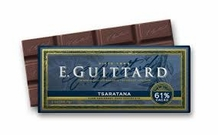 "E. Guittard Chocolate - ""Tsaratana"" Semisweet Chocolate Bar, 61% Cocoa, 56.7g/2.0oz. Kosher Dairy (Single)"