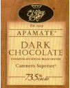 "El Rey Venezuelan Chocolate - Single Origin ""Apamate"" Dark Bar, 73% Cocoa, 80g/2.8oz."