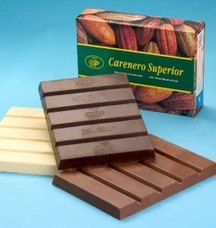 "El Rey Venezuelan Chocolate - Single Origin ""Icoa"" White Chocolate BLOCK,34% Cocoa, 1kg/2.2lbs."