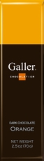 Galler Belgian Chocolate - Milk Chocolate Hazelnut With Whole Hazelnut Filling, 65g/2.3oz (Single)