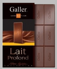 Galler Belgian Chocolate - Milk Chocolate Intense, 80g/2.8oz (Single)