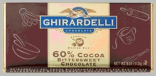 Ghirardelli Chocolate Baking Bars - 113g / 4.0oz