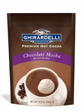 "Ghirardelli ""NEW BAG""- ""Chocolate Mocha"" Hot Chocolate, 298g/10.5oz. (6 Pack)"