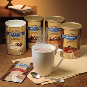 "Ghirardelli Chocolate - ""Double Chocolate"" Hot Chocolate BAG, 298g/10.5oz."