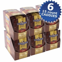 "Ghirardelli Chocolate - ""Double Chocolate"" Hot Chocolate Packets, 6 - 15 count Box. (6 Pack)"