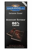 Ghirardelli Chocolate Bars - 100g / 3.5oz
