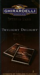 "Ghirardelli Chocolate - Intense Dark Chocolate ""Twilight Delight"", 72% Cocoa, 100g/3.5oz (12 Pack)."