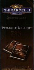 "Ghirardelli Chocolate - Intense Dark Chocolate ""Twilight Delight"", 72% Cocoa, 100g/3.5oz."