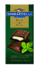 Ghirardelli Chocolate - Mint Chocolate Premier Bar, 85g/3.0oz. (Single)