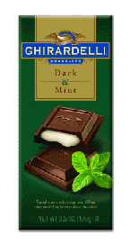Ghirardelli Chocolate - Mint Chocolate Premier Bar, 85g/3.0oz. (12 Pack)