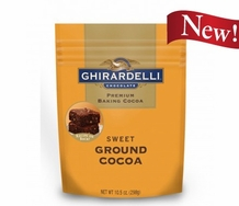 "Ghirardelli Chocolate - ""Sweet Ground Chocolate and Cocoa"" Premium Baking Cocoa, 298g/10.5oz."