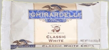 "Ghirardelli Chocolate - ""White Chocolate"" Premium Baking Chips, 312g/11oz."