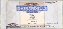 "Ghirardelli Chocolate - ""White Chocolate"" Premium Baking Chips, 312g/11oz. (12 Pack)"