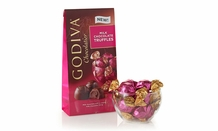 "Godiva Chocolate - 12 pc. Godiva ""Milk Chocolate"" Truffle Gems, 4.0oz./113g  (6 Pack)"