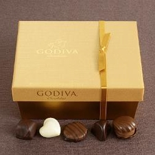 "Godiva Chocolate - ""36 pc. Gold Ballotin Gift Box"", 414g/14.6oz."