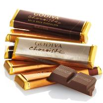Godiva Chocolate Bar Assortment - Gift Box
