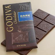 Godiva Chocolate Bars - 100g / 3.5oz
