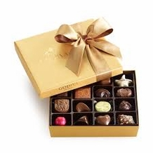 Godiva Chocolate-Godiva Chocolatier Gold Ballotin Belgian Chocolates Gift Box 19 Pieces 7.2 oz / 204g  (Single)