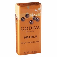 Godiva Chocolate-Godiva Chocolatier Milk Chocolate Pearls 1.5 oz (43g) (18 Pack)