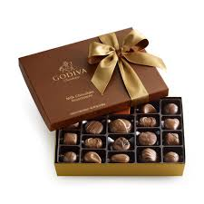Godiva Chocolate-Godiva Chocolatier Milk Chocolate Assortment Belgian Chocolates Gift Box 22 Pieces 10.5 oz / 298g  (Single)