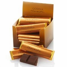 Godiva Chocolate Bars - 43g / 1.5oz