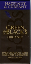 Green & Black�s Organic Hazelnut & Currant Bar