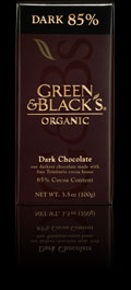 "Green & Black's Organic Chocolate - Intense Dark Chocolate, ""85% cocoa"", 100g/3.5oz(10 Pack)"