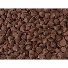 "Guittard Chocolate - 1000 ct. Chocolate Chips ""Milk Chocolate"", Repackaged, 1kg/2.2lb."