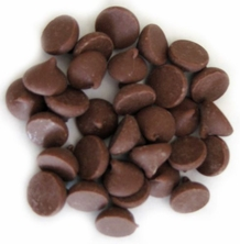 "Guittard Chocolate - 350 ct. Giant Chocolate Chips ""Milk Chocolate"", 25 Lb. Case (Single)"