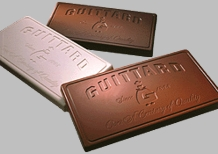 "Guittard Chocolate - ""Belmont"" Dark Milk Chocolate BLOCK, 35% Cocoa, 5 Block Case, 50 Pounds"