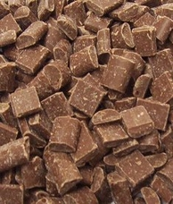 "Guittard Chocolate - ""Milk Chocolate Cookie Chunks"", 600ct. Per Pound, 1kg/2.2lb Repackaged"