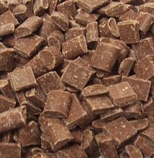 "Guittard Chocolate - ""Milk Chocolate Cookie Chunks"", 600ct. Per Pound, 1 Pound, Repackaged"