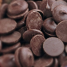 "Guittard Chocolate - ""Patisserie Wafers"" Dark Chocolate Bakers Coating Wafers, Repackaged, 1kg/2.2lb."