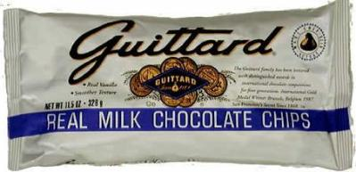 "Guittard Chocolate - ""Real Milk Chocolate Chips"" Milk Chocolate Chips, 11.5oz./326g"