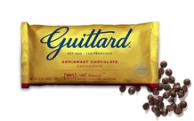 "Guittard Chocolate - ""Real Semisweet Chocolate Chips"", 12oz./340g"